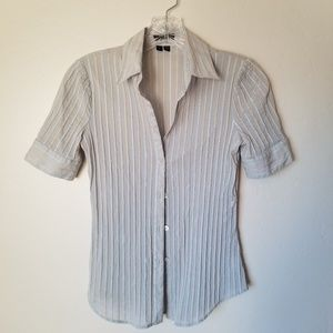 THEORY - agnes exchange fitted button down size P